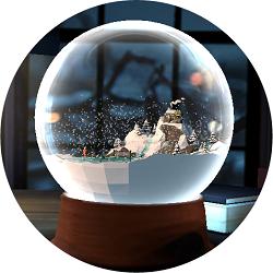 全景水晶球